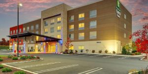The Holiday Inn Express & Suites Middletown - Goshen, in upstate N.Y. is part of Coakley & Williams' portfolio. Photo credit: IHG