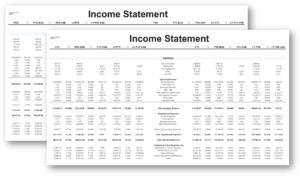 Income statements and hotel financial reports